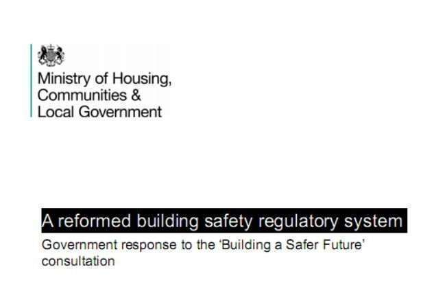Building Safety Changes