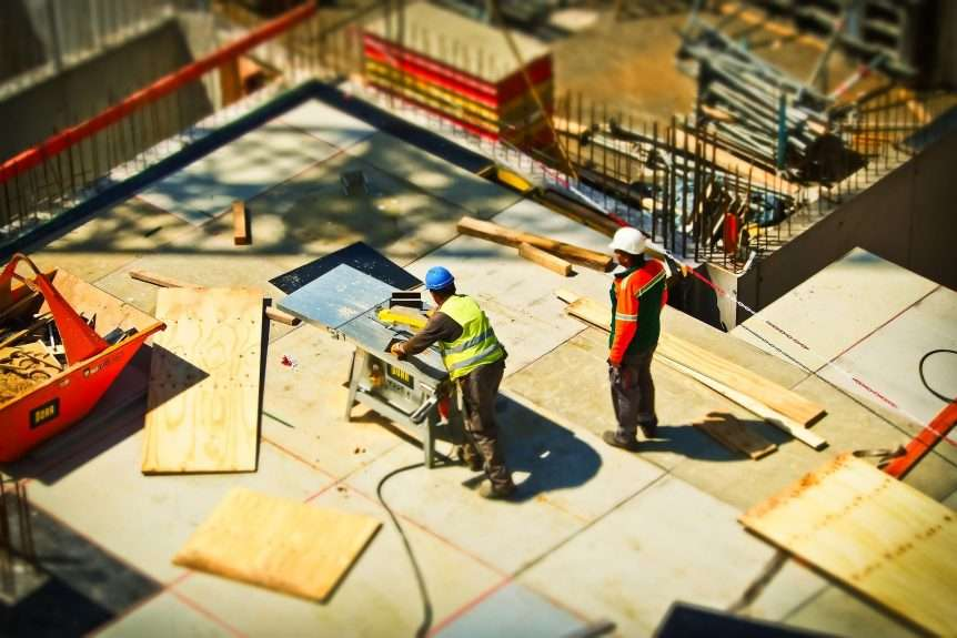 Risk assessments on construction sites